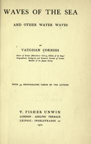 Cover of: Waves of the sea and other water waves