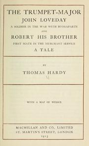 Cover of: The Trumpet-Major, and Robert His Brother