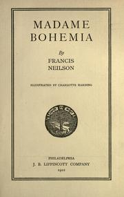 Cover of: Madame Bohemia