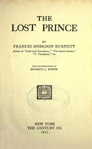 Cover of: The Lost Prince