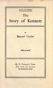 Cover of: The Story of Kennett