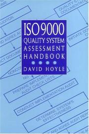 Cover of: ISO 9000 quality system assessment handbook