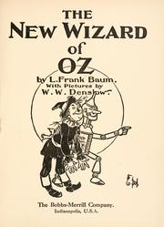 Cover of: The new Wizard of Oz