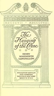 Cover of: The hanging of the crane
