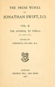 Cover of: Journal to Stella