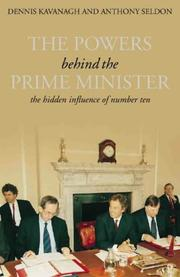 Cover of: The Powers Behind the Prime Minister