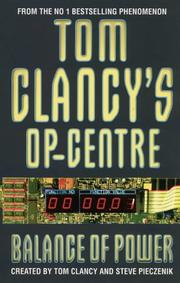 Cover of: Balance of Power (Tom Clancy's Op-centre)