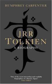Cover of: J.R.R. Tolkien