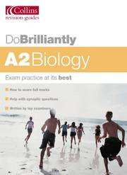 Cover of: A2 Biology (Do Brilliantly At...)