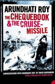 Cover of: The Chequebook and the Cruise Missile