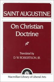 Cover of: Augustine: On Christian Doctrine