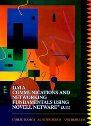 Cover of: Data Communications and Networking Fundamentals Using Novell Netware Release 3.11