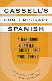 Cover of: Cassell's Contemporary Spanish