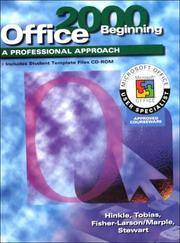 Cover of: A Professional Approach Series