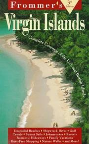 Cover of: Frommer's Virgin Islands