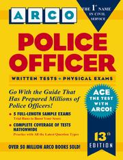 Cover of: Police Officer (Arco Civil Service Test)