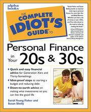 Cover of: The Complete Idiot's Guide to Personal Finance in Your 20s And 30s