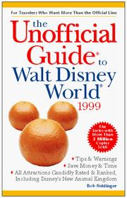 Cover of: The Unofficial Guide to Walt Disney World 1999