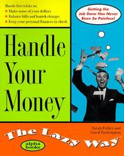 Cover of: Handle Your Money