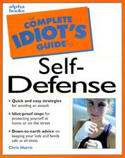 Cover of: The Complete Idiot's Guide(R) to Self-Defense