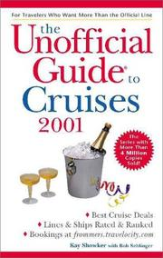 Cover of: The Unofficial Guide to Cruises 2001 (Unofficial Guide to Cruises)