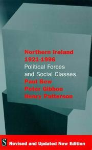 Cover of: Northern Ireland, 1921-1996