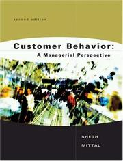 Cover of: Customer Behavior