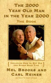 Cover of: The 2000 Year Old Man in the Year 2000