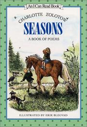 Cover of: Seasons: A Book of Poems