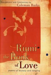 Cover of: Rumi: The Book of Love