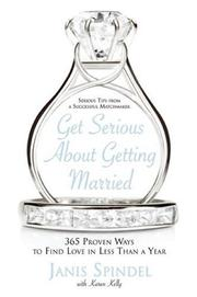 Cover of: Get Serious About Getting Married
