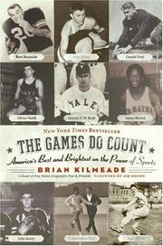 Cover of: The Games Do Count