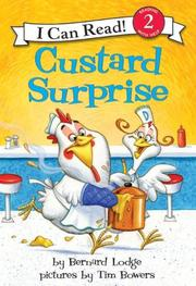Cover of: Custard Surprise
