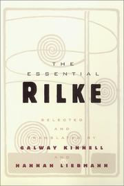 Cover of: The Essential Rilke