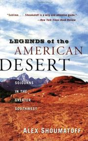 Cover of: Legends of the American Desert