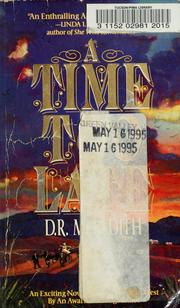 Cover of: A Time Too Late
