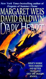 Cover of: Dark Heart: Book I of Dragon's Disciple
