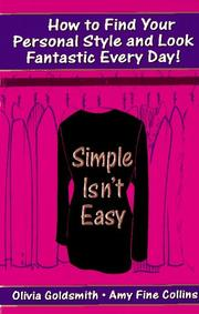 Cover of: Simple Isn't Easy