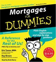Cover of: Mortgages for Dummies 2nd Ed. CD (For Dummies (Lifestyles Audio))