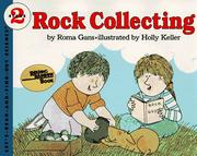 Cover of: Rock Collecting (Let's-Read-and-Find-Out Book)