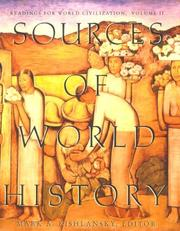 Cover of: Sources of World History