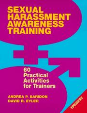 Cover of: Sexual Harrassment Awareness Training