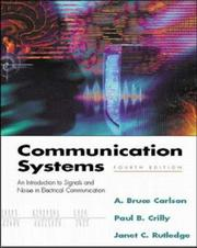 Cover of: Communication Systems