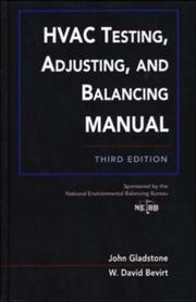 Cover of: HVAC Testing, Adjusting, and Balancing Field Manual