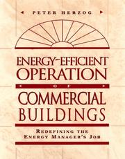 Cover of: Energy-Efficient Operation of Commercial Buildings
