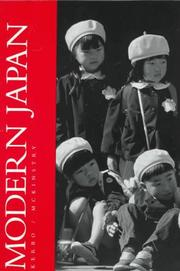 Cover of: Modern Japan