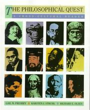 Cover of: The Philosophical Quest