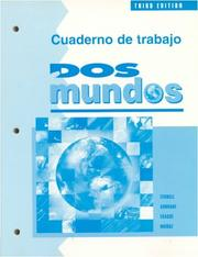 Cover of: Cuaderno De Trabajo