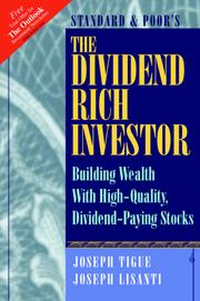 Cover of: The Dividend Rich Investor