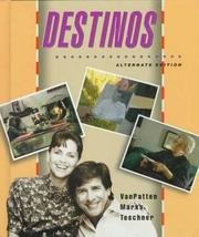Cover of: Destinos